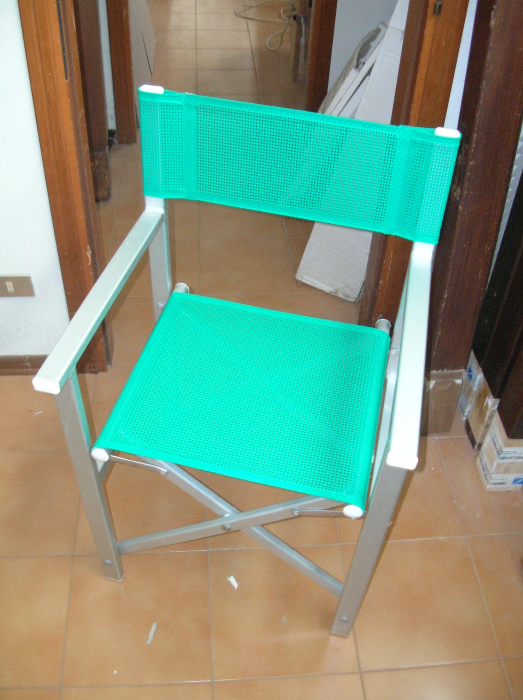 Sedie Da Regista In Legno Usate.Sdraio E Regista Usate Alluminio