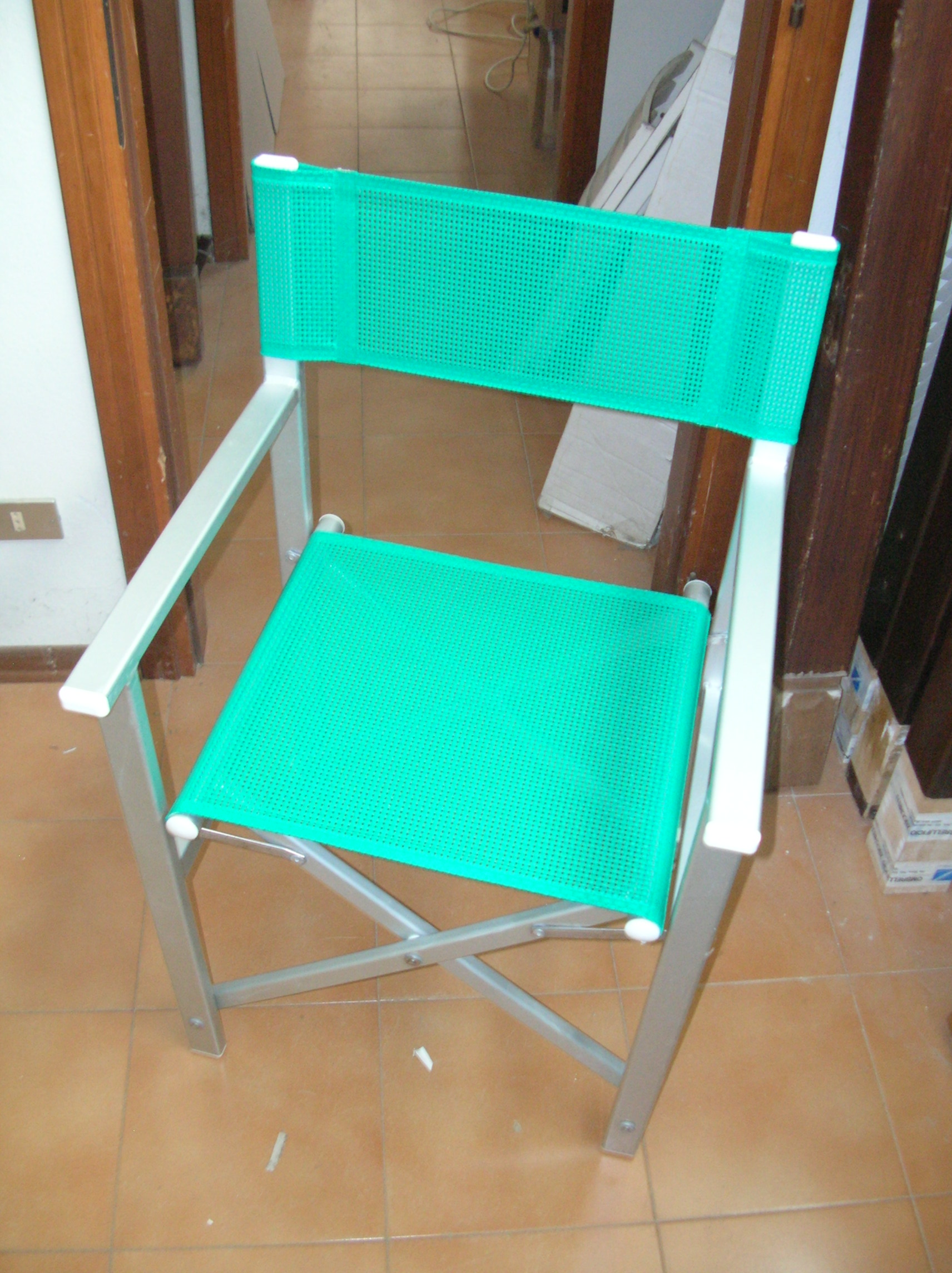 sedie da regista in legno usate